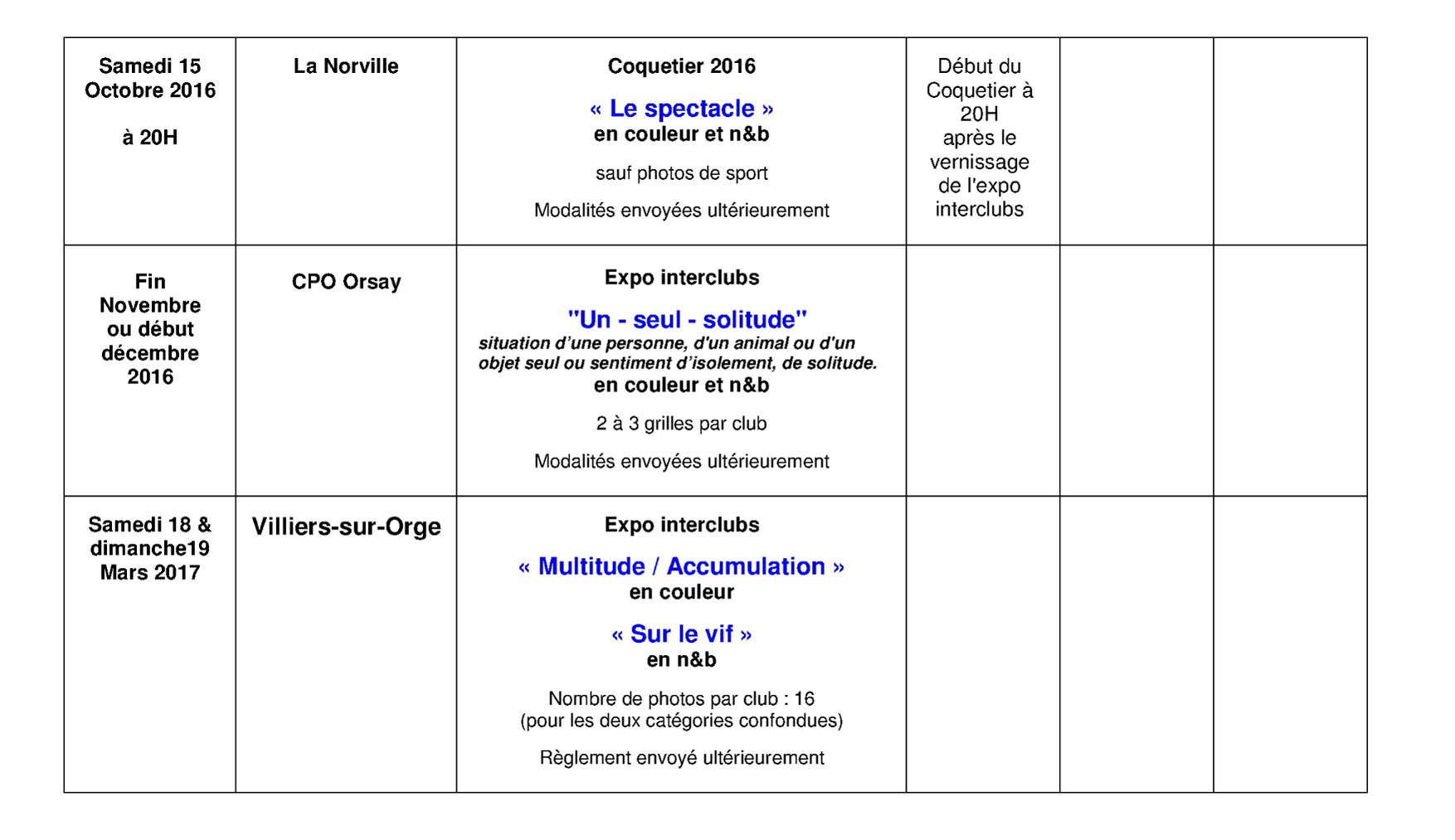 Planning prévisionnel des expos interclubs CDP91 saison 2016-17 version 02 page 3