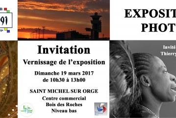 Expo» thème libre» des membres de Déclic 91 de Saint Michel sur Orge du 18 au 25 mars 17