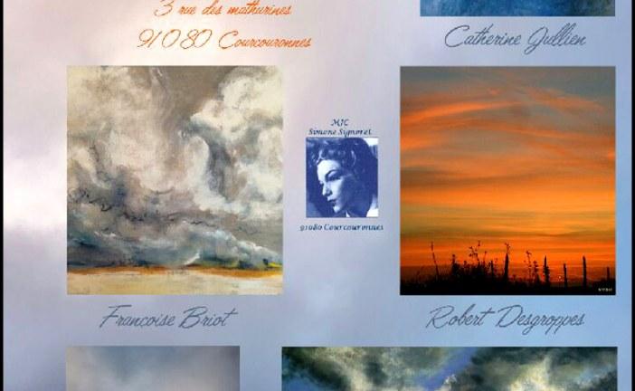 Exposition photo & peinture «Ciels» du samedi 18 au dimanche 26 mars 2017 à la Ferme des Mathurines à Courcouronnes (91080)