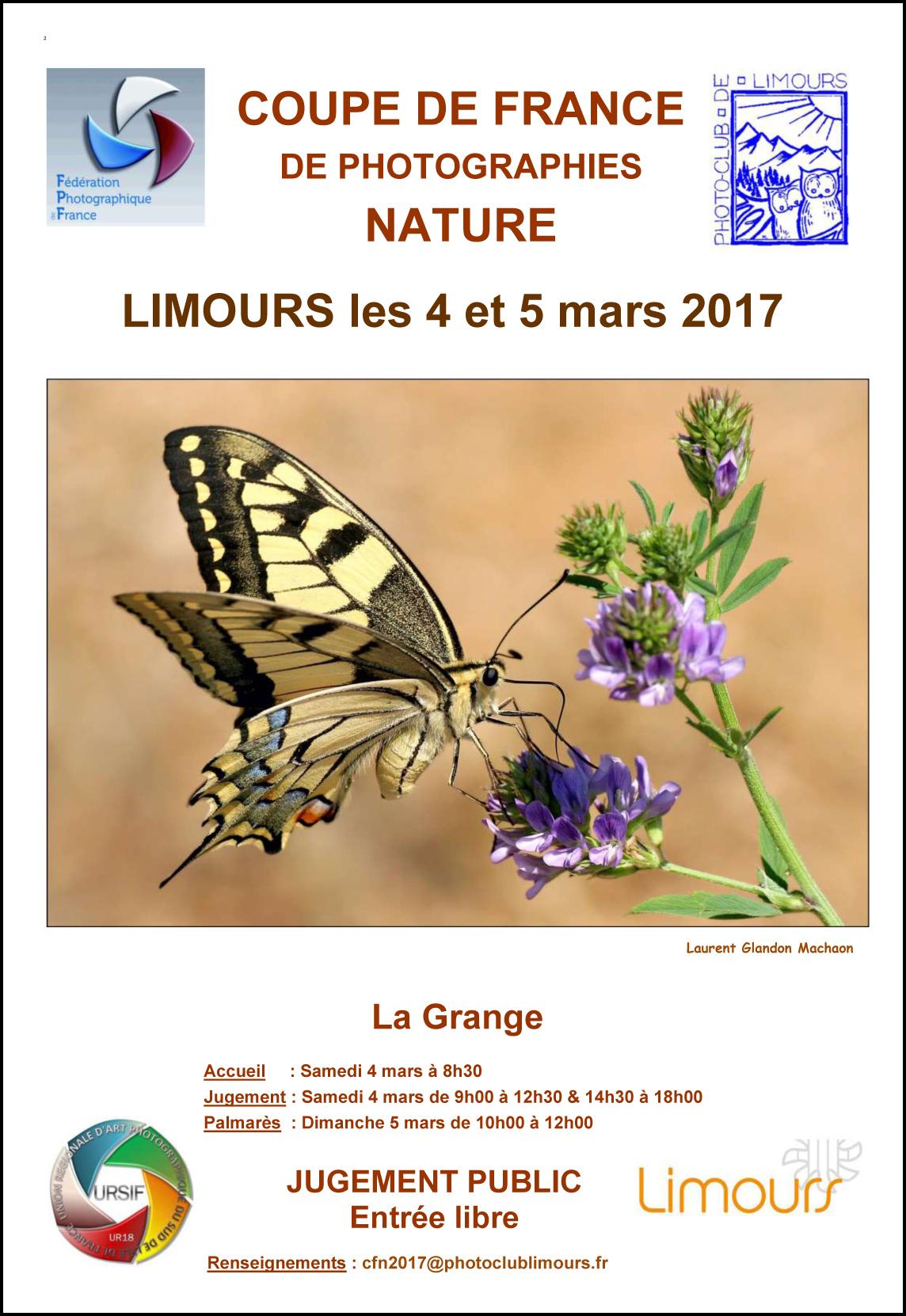 Coupe de France de Photographie Nature les 4 et 5 mars 2017 à Limours