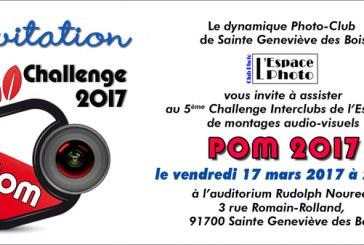 Palmarès de la 5ème édition du Challenge POM 2017