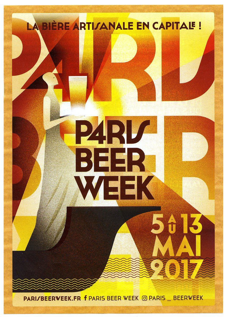 Palmarès expo photo « Paris Beer Week » de Brun Houblon du 5 au 13 mais 2017