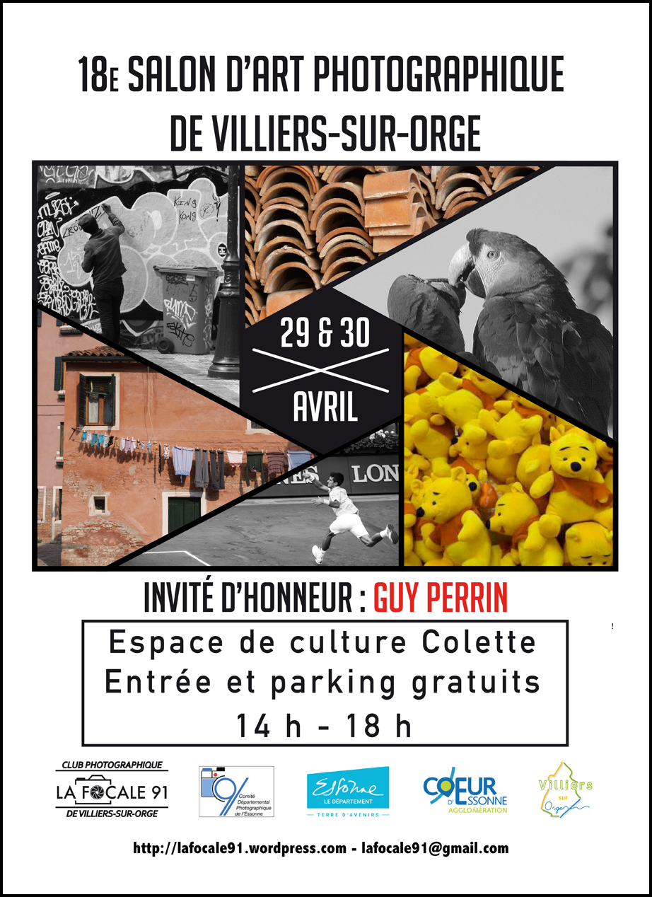 Palmarès de l'expo «multitude/accumulation» (en couleurs) et «sur le vif» (en noir & blanc) de Villiers sur Orge des 29 & 30 avril 17