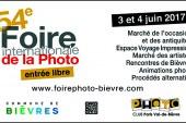 Instantanés photographiques du stand du CDP 91 à la Foire à la Photo de Bièvres 2017