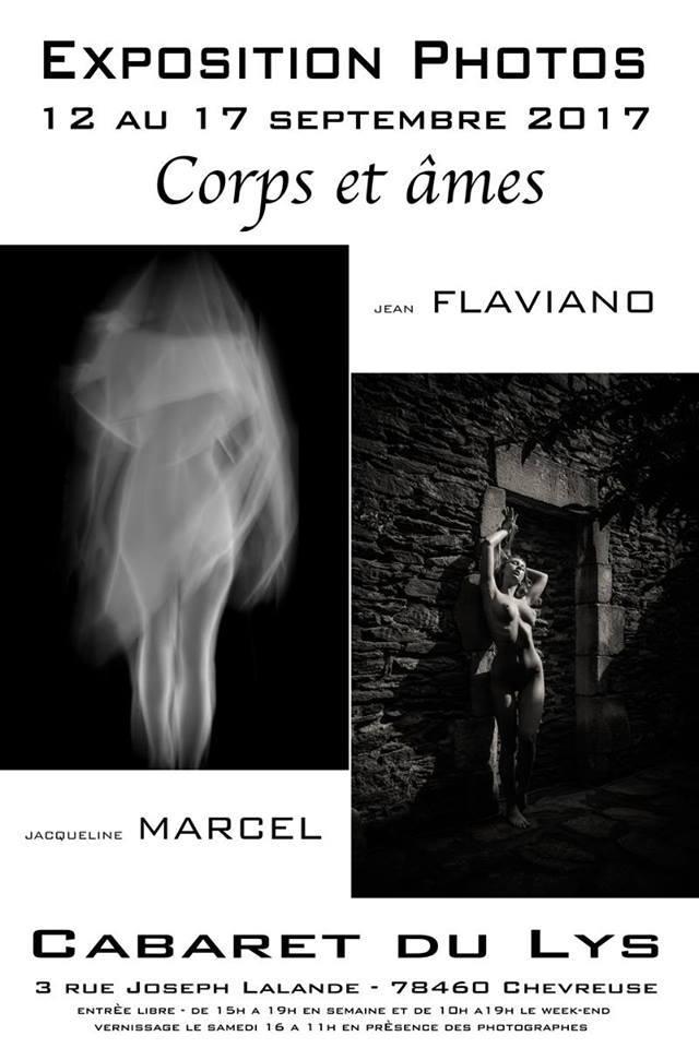 Expo photo «Corps et ames» de Jacqueline Marcel et Jean Flaviano au Cabaret du Lys à Chevreuse du mardi 12 au dimanche 17 septembre 2017