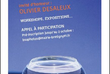 Invitation de Robert Desgroppes au au vernissage des 2èmes rencontres photographiques de Brétigny sur Orge