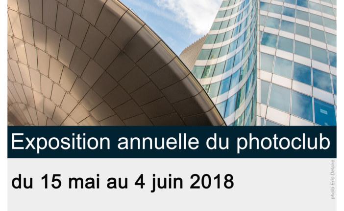 Vernissage de l'expo annuelle du photo-club de la MJC de Palaiseau le jeudi 17 mai