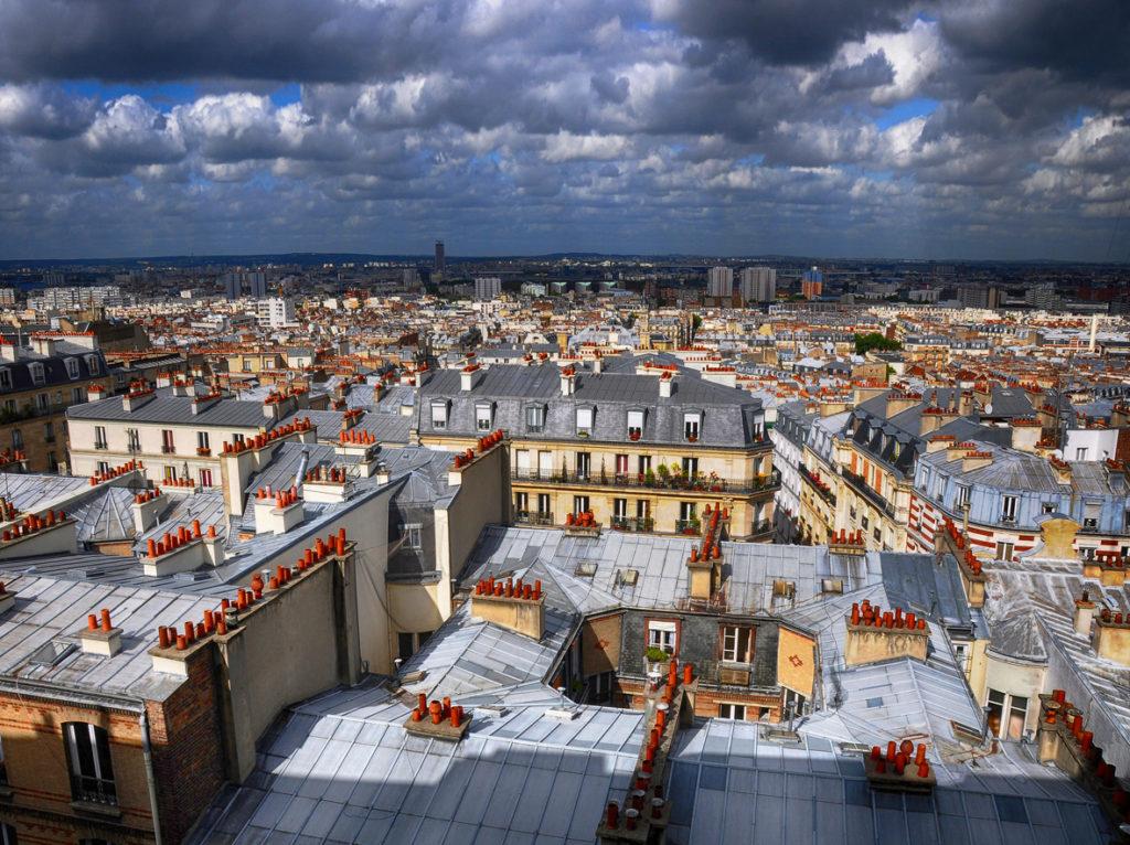 "Sartore Claude / L'Espace Photo SGdB - ""toits parisiens"""