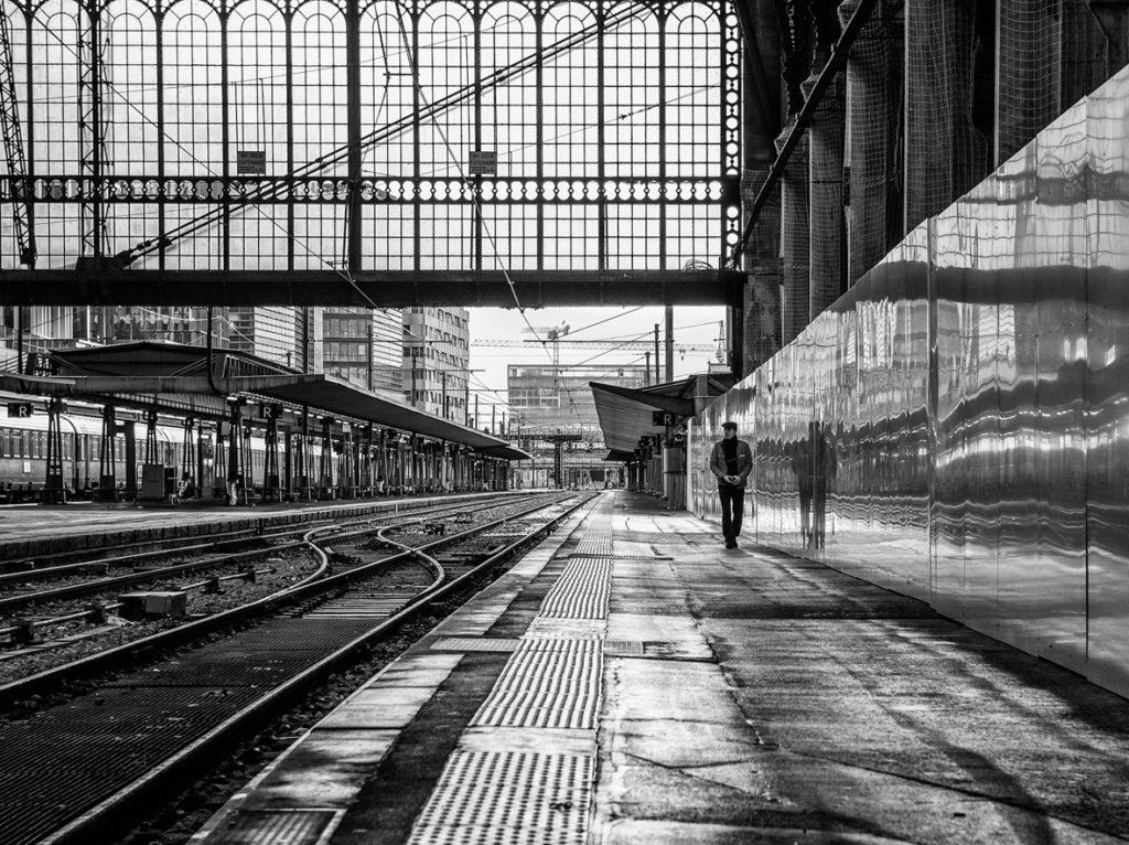 "Caron Balbina / PC Draveil - ""seul sur le quai"""