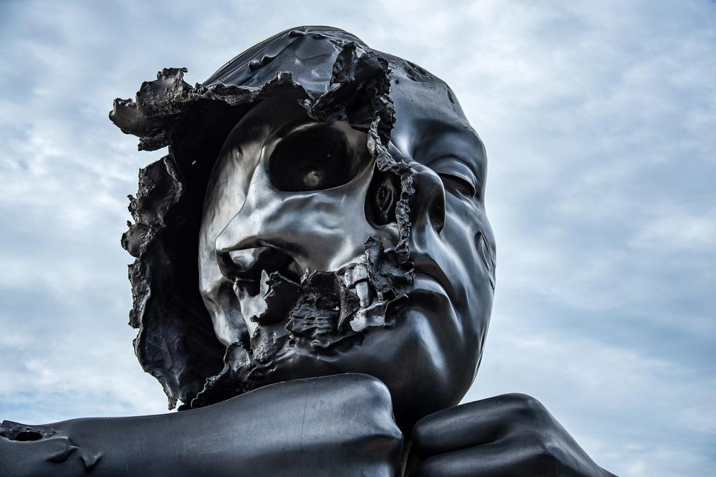 Prix du Conseil départemental couleur : « Visage de bronze » Colette BOUCAND (Longpont)