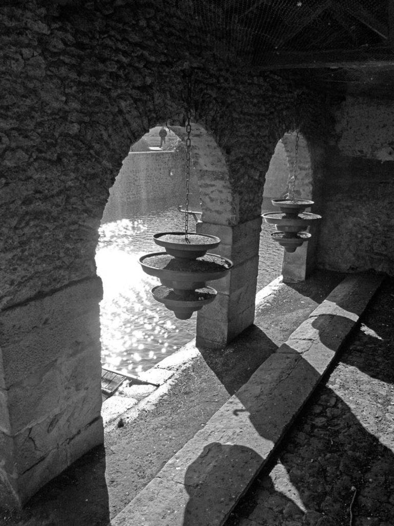 Prix de la ville n&b : « Le lavoir » Jacques MONTAUFIER ( Val-de-Bièvres)