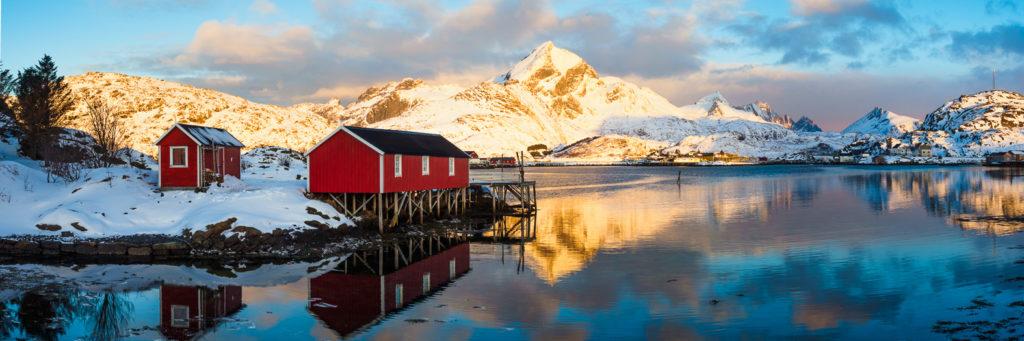 Prix du public couleur : « Lofoten en hiver », Richard Pressard, Noz'images