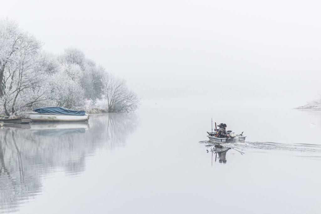 """Serge RISSER """"Départ pour la pêche"""""""