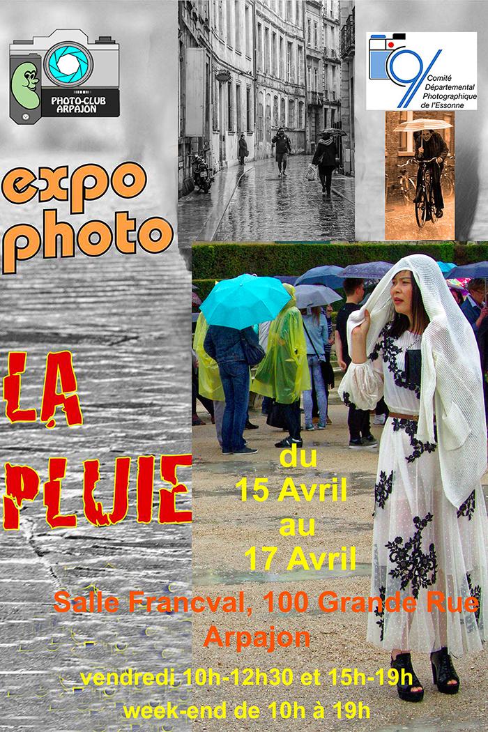 EXPO – Club Arpajon – La Pluie
