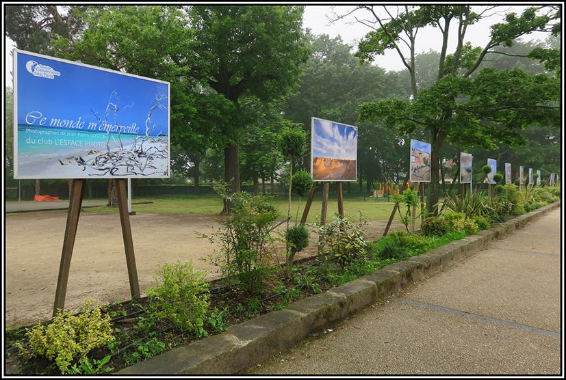Une nouvelle expo photo de JP Coston de L'Espace Photo est en place pour l'été sur les cimaises du Parc Pablo Neruda à Ste Geneviève des Bois