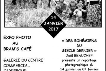 Expo Photo de Joël Beauchef au Bram's Café de La Ville du Bois du 14 janvier au 7 février 17