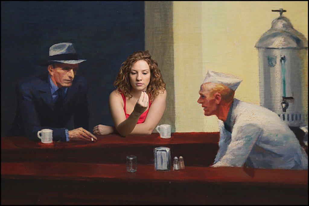 A la manière de Edward Hopper