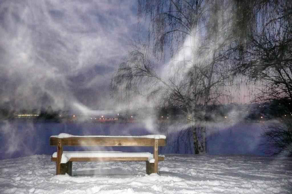 le banc de brume