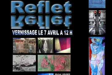 vernissage de l'exposition » Reflet » avec les photos de Robert Desgroppes le samedi 7 avril à partir de 12h