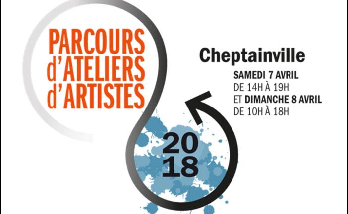 Parcours d'Ateliers d'Artistes de Cheptainville (91), les samedi 7 et dimanche 8 avril 2018