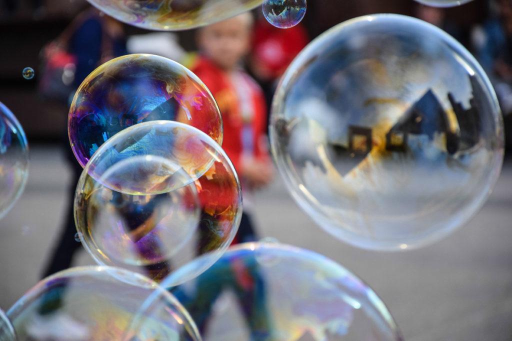 "Coutinho Justine / Noz'images 91 Nozay - ""bubble in La Défense"""