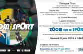 Rappel : Vernissage de l'expo photo «zoom sur le sport» à Draveil le samedi 9 juin à 18H00