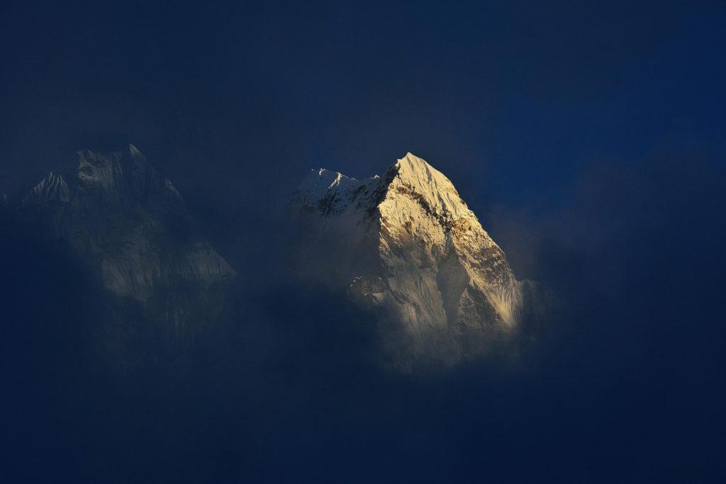 9ème  avec 35 points : Photo club Champlan / Gérard FILOCHE - « Apparition, Népal »