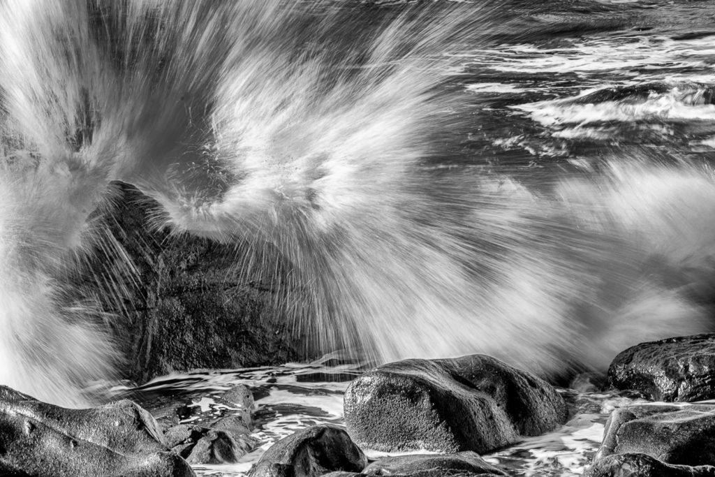 "1er prix monochrome : ""splash 2"" - Christian Georget / PC Chartres Objectif"