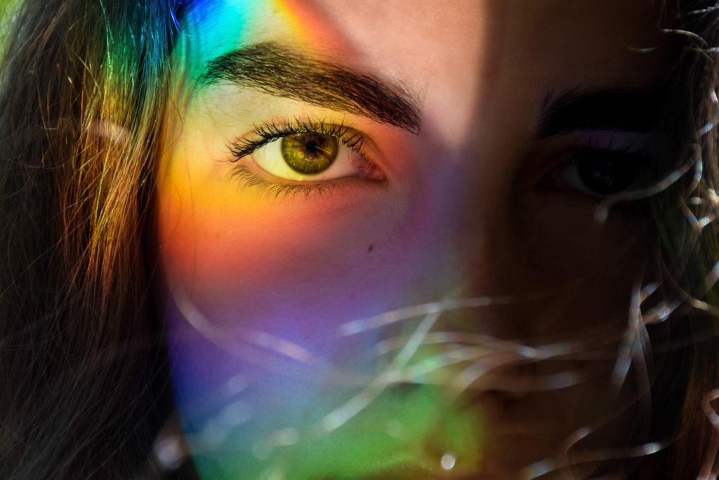 3ème Prix du Jury couleur : « Mon autoportrait » Justine COUTINHO (Noz'images 91 Nozay)