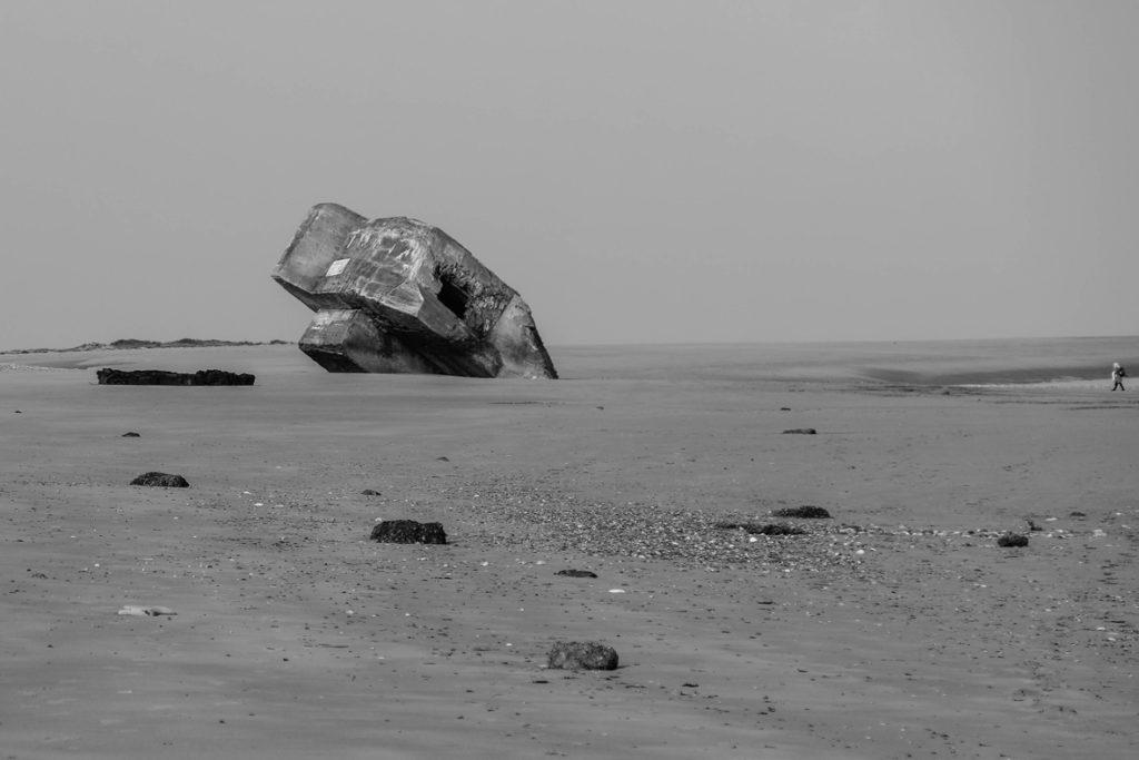 Coup de Cœur du Maire monochrome « Bunker » Gisèle Lardeau – D'clics Villebon sur Yvette