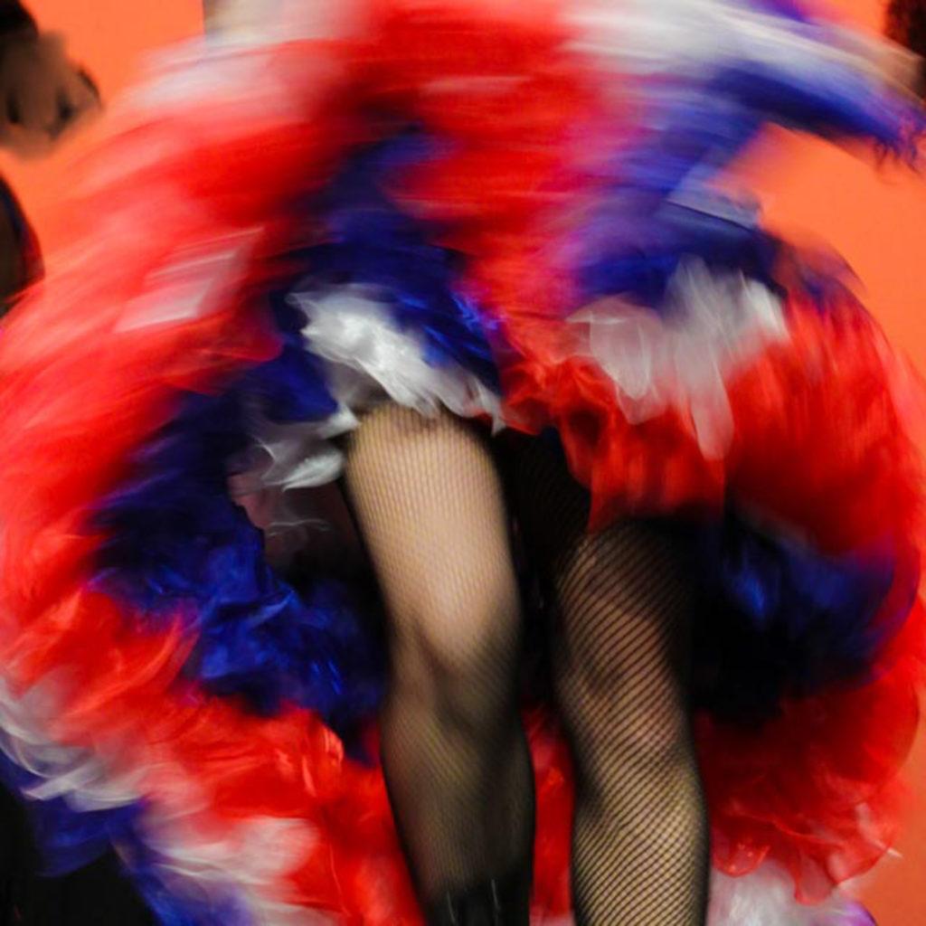 1er Prix du Jury Couleur : Quéré Yolande – Villebon – « french cancan » N°50