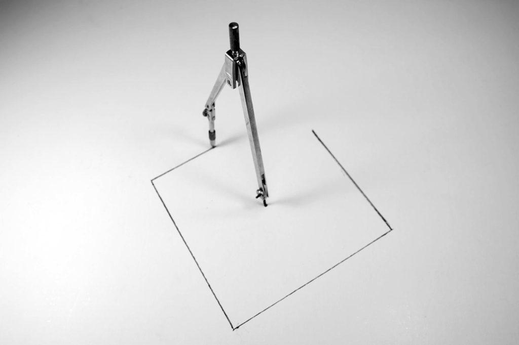 Prix du jury et 3ème Prix du public noir et blanc : photo N° 55 – « quadrature du cercle » - Gattebo
